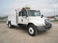 Extended Cab Bucket Truck