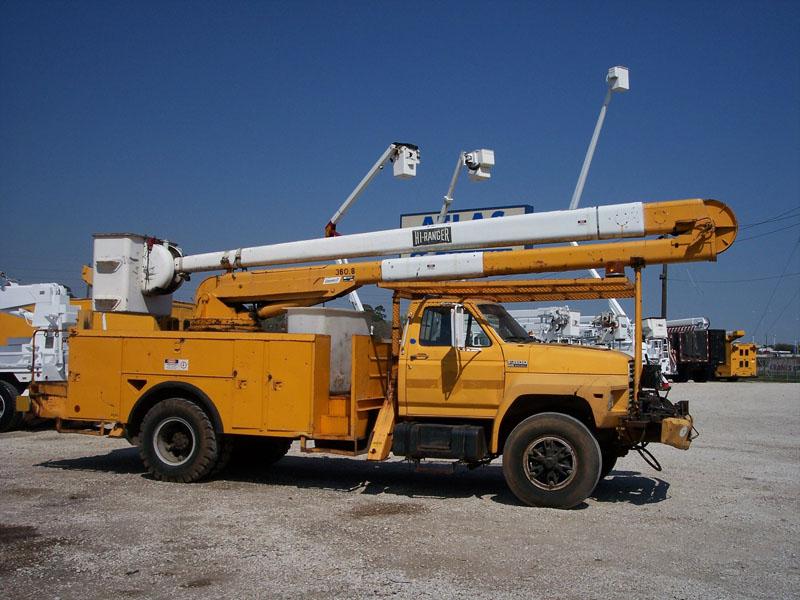 Atlas Truck Sales >> Bucket Truck #6886 - Hi-Ranger Bucket